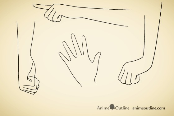 how to draw anime hands step by step anime outline web news